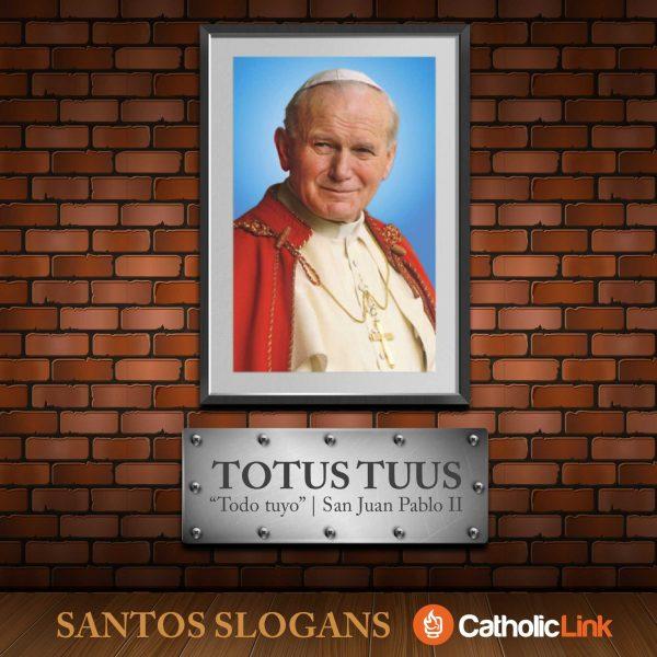 Galería: Los «slogans» de los santos