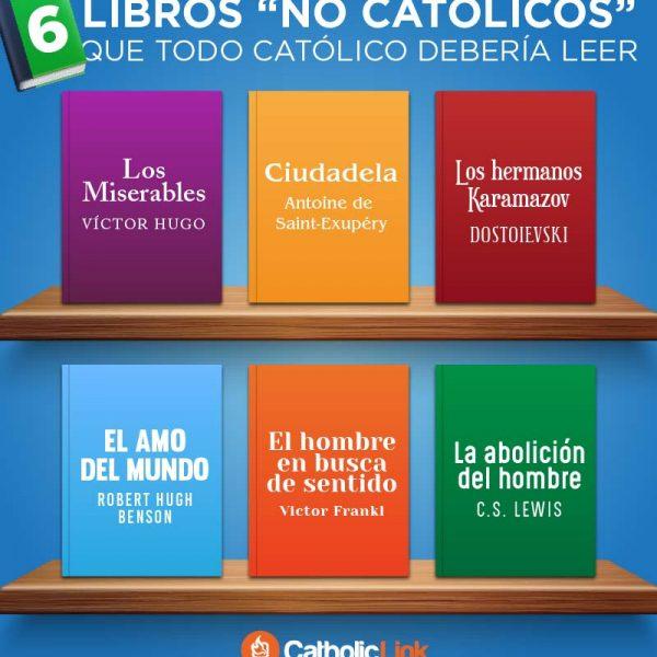 Infografía: 6 libros no católicos que deberías leer