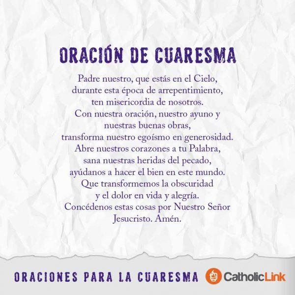 Galería: Oraciones para Cuaresma