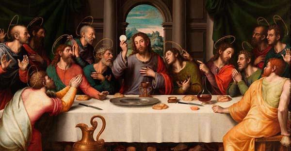 última cena, Una bella reflexión sobre la Última Cena, la amistad y el amor