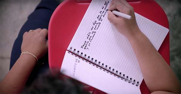 escribir, ¿Y qué tal si en vez de mandarnos mensajes nos escribimos una carta?