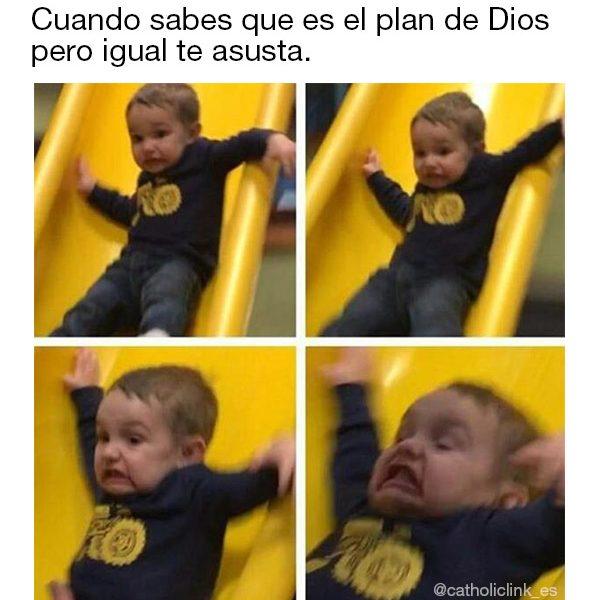 Cuando sabes que es el plan de Dios pero te asusta