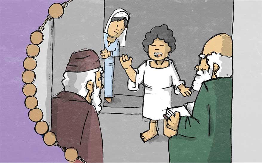 Misterios Gozosos, Misterios Gozosos del Santo Rosario en caricaturas