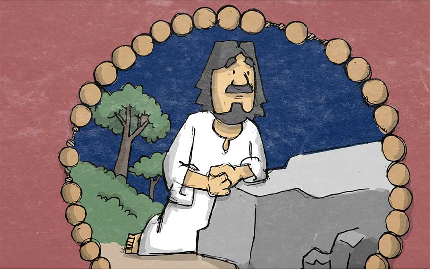 Misterios dolorosos, Misterios Dolorosos del Santo Rosario en caricaturas