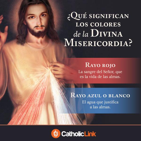 Infografía: Los colores de la Divina Misericordia