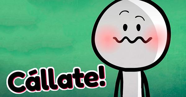 silencio, ¿Por qué debería guardar silencio cuando por dentro solo quiero gritarle al otro «cállate»?