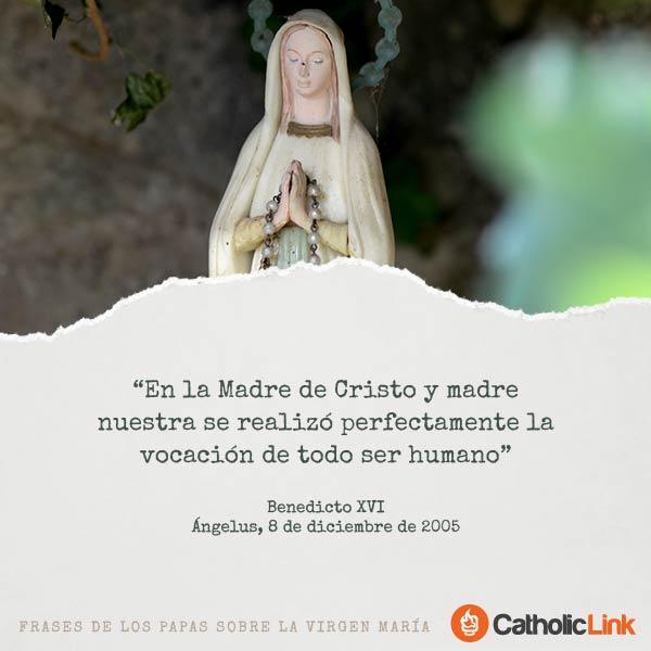 Galería: Frases de los Papas sobre la Virgen María