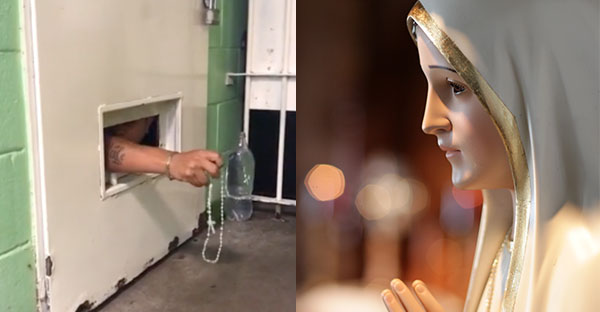 Rosario, La Virgen de Fátima visita una cárcel en Argentina y lo que sucede entre los presos es increíble