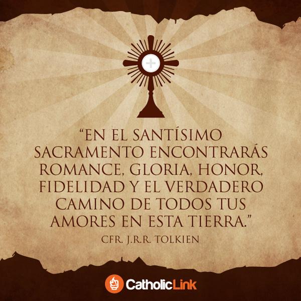 El Santísimo Sacramento según J.R.R. Tolkien