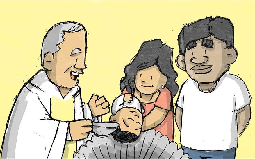 sacramentos, ¿Cuáles son los 7 Sacramentos de la Iglesia? Te los explicamos con caricaturas