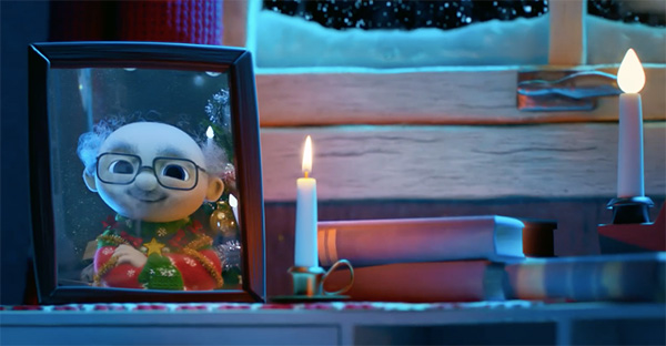 Navidad, (Corto animado) Esta es nuestra primera Navidad sin ti, pero sigues estando en nuestro corazón