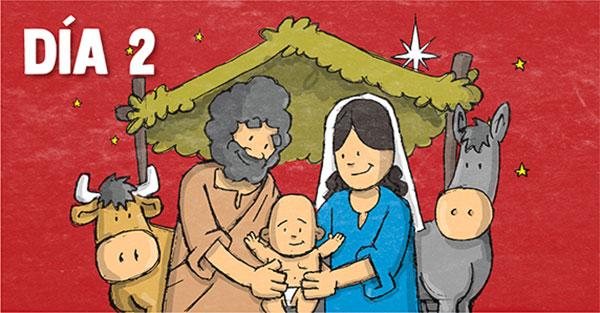 Novena, Novena especial de Navidad: Día segundo