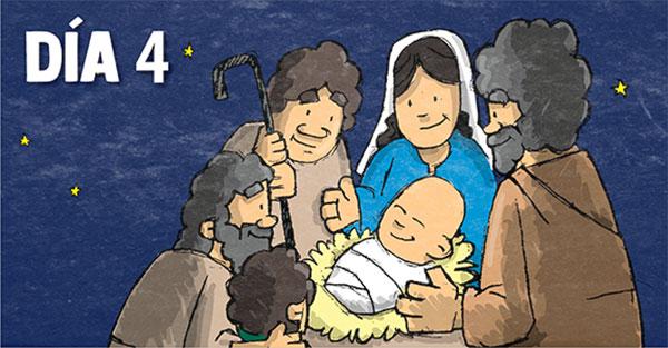 Novena día cuarto, Novena especial de Navidad: Día cuarto