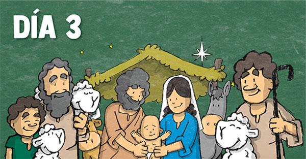 Novena día tercero, Novena especial de Navidad: Día tercero
