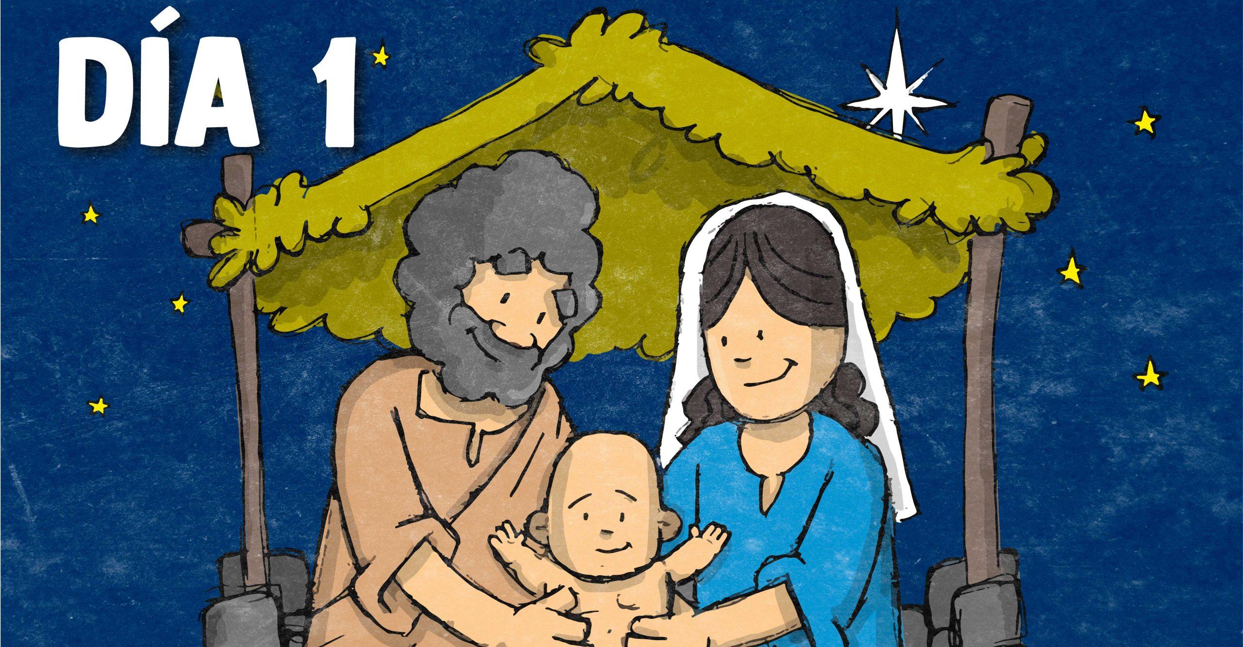 Novena día primero, Novena especial de Navidad: Día primero
