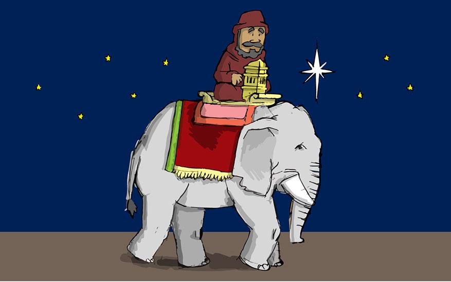 Reyes Magos, Los 3 Reyes Magos, origen y significado apostólico. ¡Todo en caricaturas!