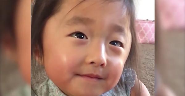 Adoptar, Esta pequeña le explica a su madre adoptiva qué sintió la primera vez que la vio