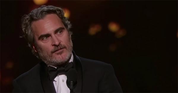 Joaquin Phoenix, 3 cosas que me recordó el discurso de Joaquin Phoenix en la ceremonia de los Oscars