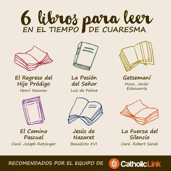 6 libros para leer en el tiempo de Cuaresma