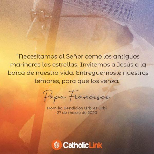 Galería: Frases Bendición Urbi et Orbi del Papa Francisco