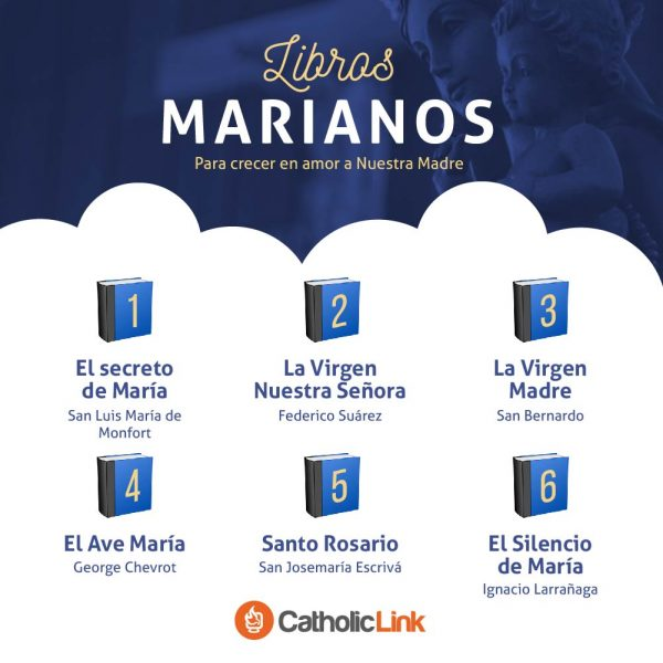 Infografía: Libros marianos para crecer en amor a María