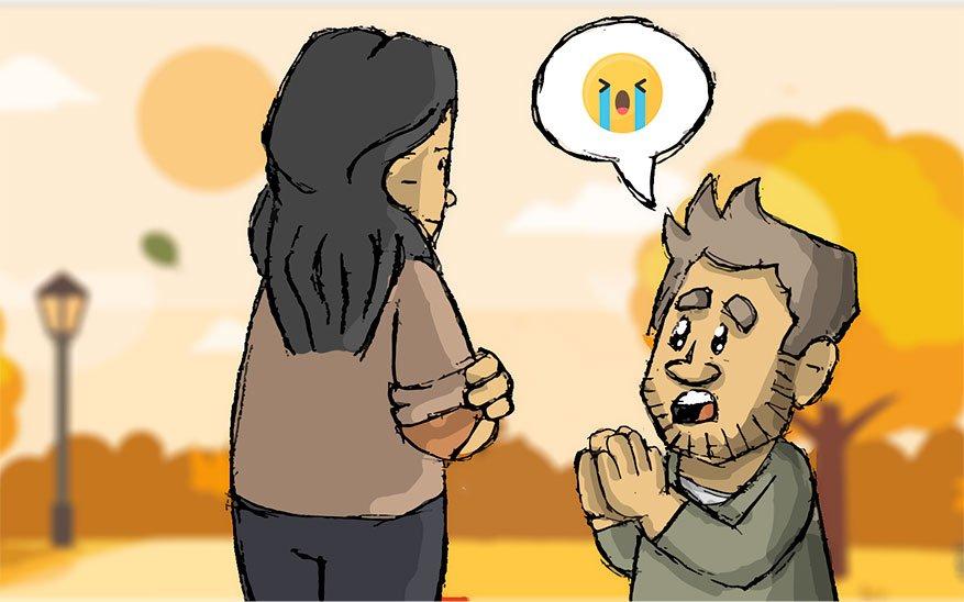 ¿Cómo hacer que mi pareja me perdone? 5 opciones