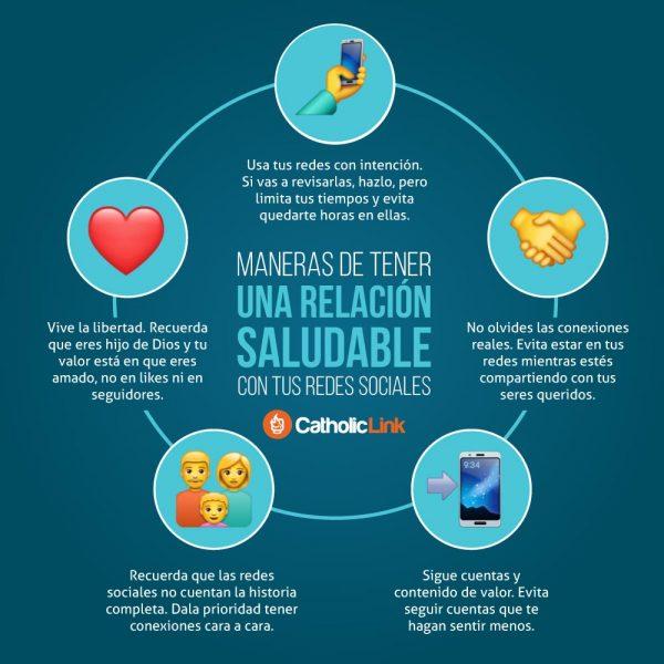 Infografía: Relación saludable con tus redes sociales