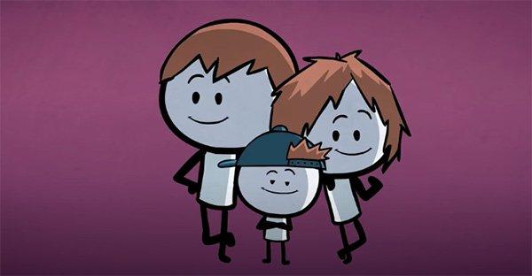 hermano menor, «Ser el hermano menor trae sus ventajas». Un video para confesar que los amamos en secreto