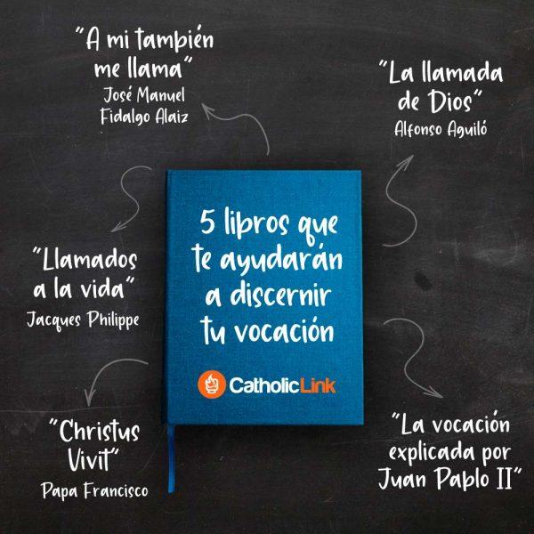 Infografía: Libros para discernir tu vocación