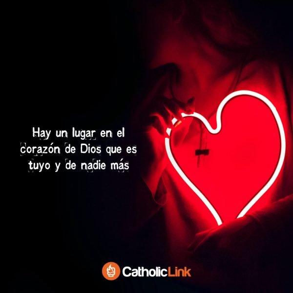 Hay un lugar en el corazón de Dios que es tuyo