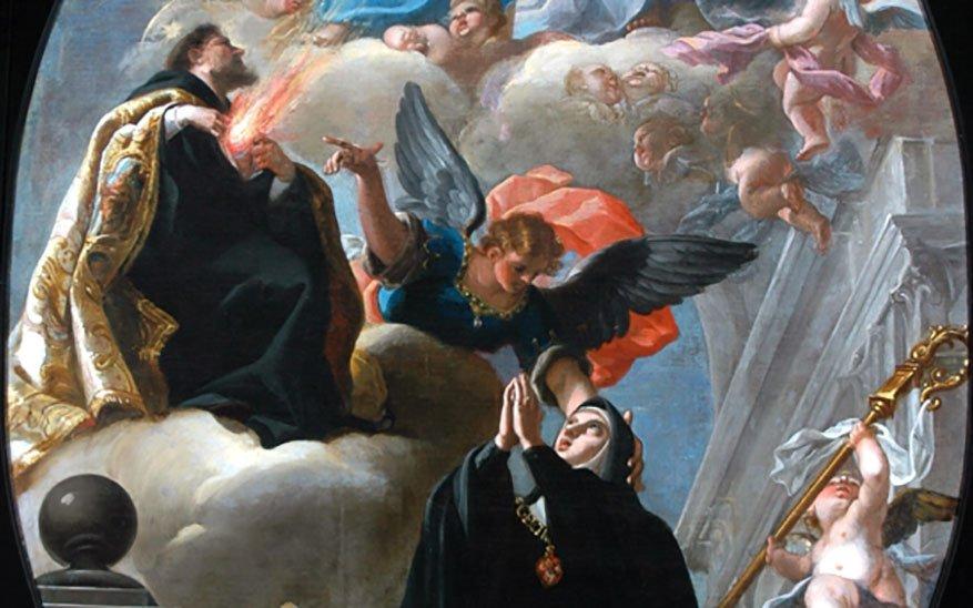 Oración de santa Gertrudis por las almas del purgatorio