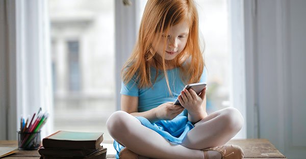 Uso de pantallas en niños. 4 puntos clave para padres