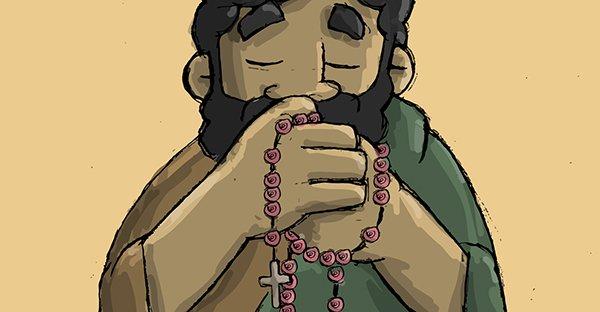 Cómo rezar el rosario a san José: Guía visual paso a paso