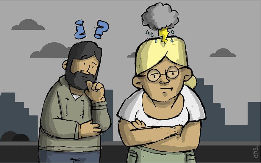 matrimonio, 5 caricaturas que ilustran lo que sucede en un matrimonio que tiene a Dios en el centro