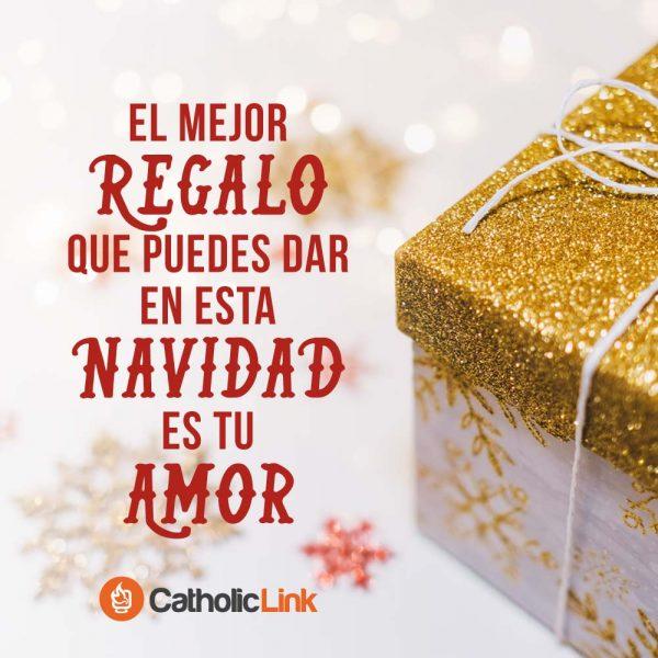 El mejor regalo para esta Navidad es tu amor