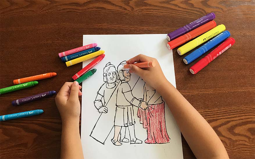 Vía Crucis para niños, Vía Crucis descargable para niños. ¡Recemos en familia este Viernes Santo!
