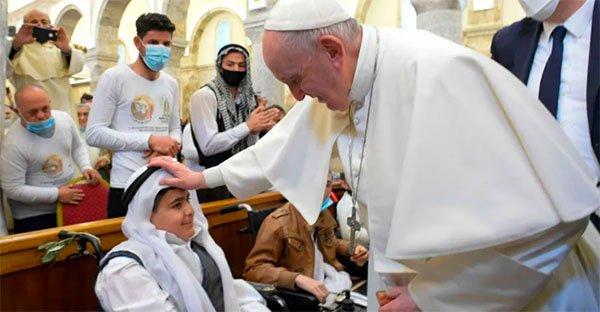 Papa Francisco visita Irak y estas son sus 6 mejores frases