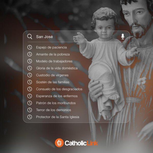 Los hermosos títulos de San José en sus letanías