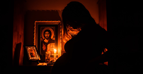 oración para quedar embarazada, Oración de una mujer que le pide a Dios el don de convertirse en madre