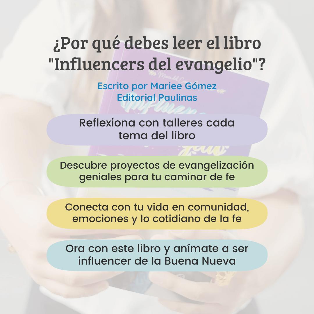 Influencers del Evangelio, Libro recomendado: «Influencers del Evangelio»