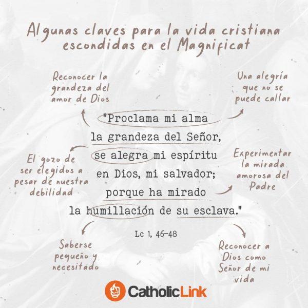 Claves para la vida cristiana en el Magnificat