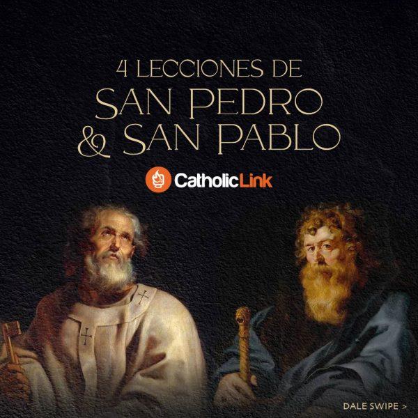 Galería: 4 lecciones de san Pedro y san Pablo