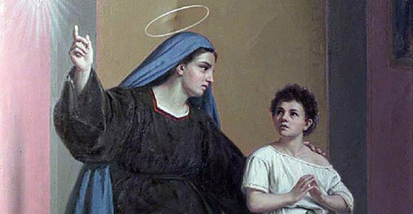 Santa Mónica y san Agustín: enseñanzas de madre e hijo
