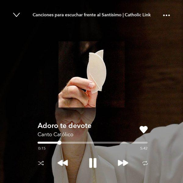 Galería: 5 canciones para escuchar frente al Santísimo