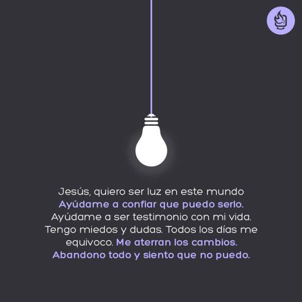 Galería: Señor, quiero ser luz del mundo